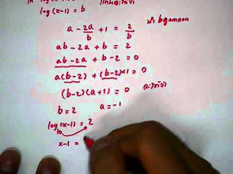 สมการลอการิทึม คณิตม.5