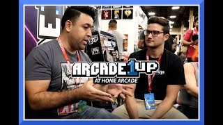 EVO 2018 Arcade1up Interview - Affordable Mid-size Home Arcades