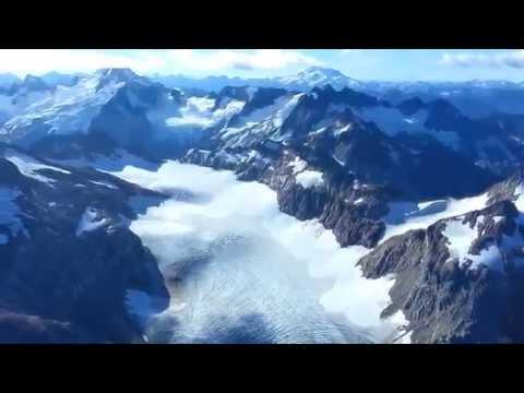USGS South Cascade cirque over-flight II