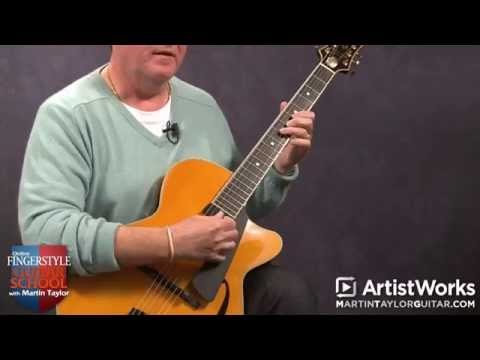 Guitar Lessons With Martin Taylor: Improvising Over Jazz Chords