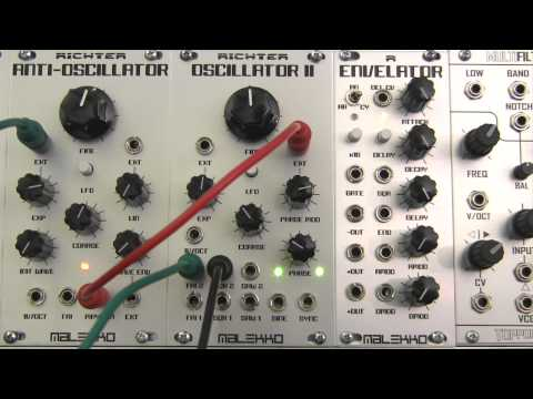 Modular Wild Presents SOUNDS-Malekko Heavy Industry Richter Oscillator II Phase Modulated Synced FM