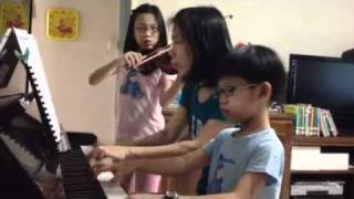 The Trio Performance by mummy, Ethan and Ethel - Symphony N