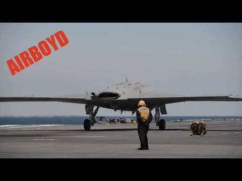 X-47 First Cat Launch - USS George H.W. Bush (CVN 77)