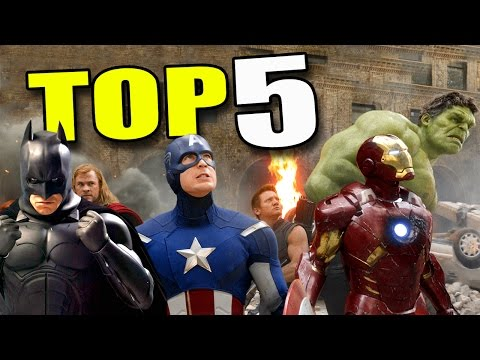 Top 5 Best SUPERHEROES - Ask Anything!