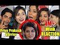 Celebrities Reaction On Priya Prakash Varrier Viral Wink | Oru Adaar Love thumbnail