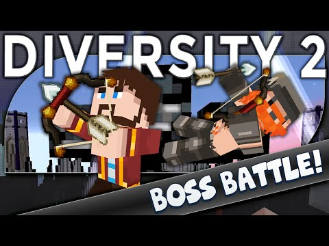 Minecraft - Diversity 2 - Withering Heights (boss Battle) video