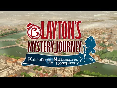 LAYTON'S MYSTERY JOURNEY™: Katrielle and the Millionaires' Conspiracy Trailer