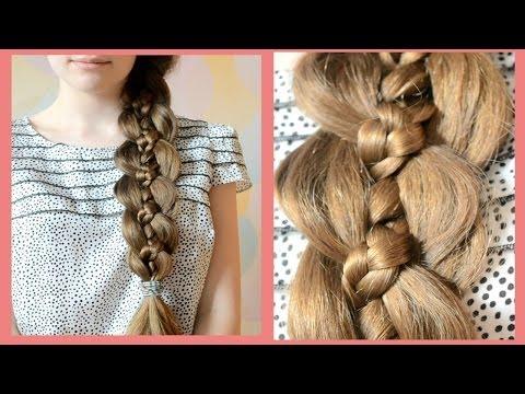 Как сделать косы как у рапунцель