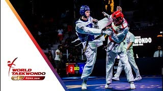 Roma 2018 World Taekwondo GP-Final [Male -80Kg] KHRAMTCOV, MAKSIM(RUS) Vs MARTINEZ GARCIA, RAUL(ESP)