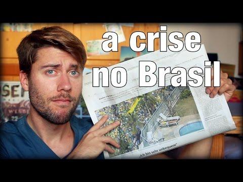 A CRISE NO BRASIL no jornal alemão | O que estamos ouvindo da crise aqui na Alemanha