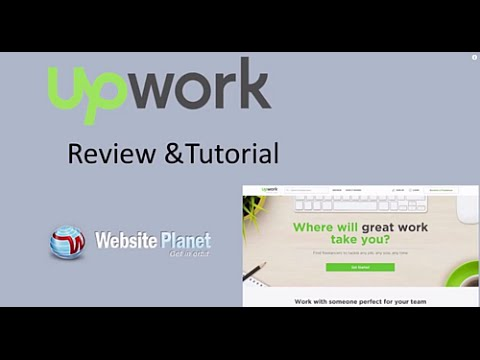UpWork Review and Tutorial