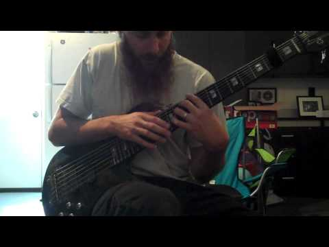 Bass Lesson for the last riff of F U ALL Jeff Hughell