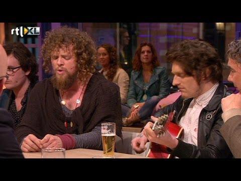 Di-rect ontroert Humberto met All In Vain - RTL LATE NIGHT
