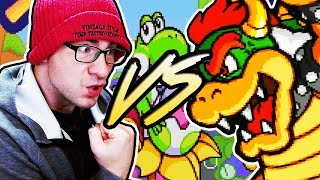 THE EPIC SHOWDOWN: EVW VS BOWSER // Tetris Attack VERY HARD MODE Complete!