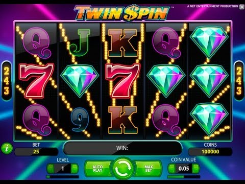 Twin Spin Slot Machine Video Review - Casinos-Online-888.com