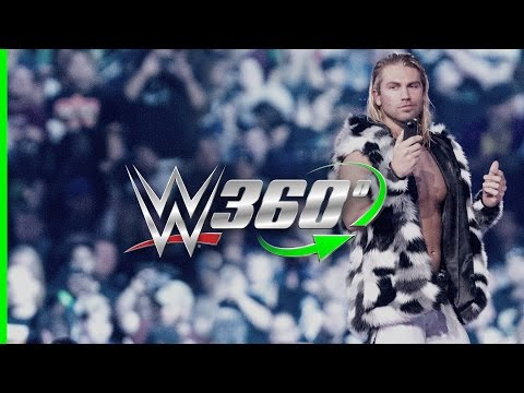 Make your grand WrestleMania 32 entrance in 360° with Tyler Breeze!