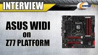 Newegg TV_ ASUS WiDi Wireless Display Demonstration on the Z77 Platform