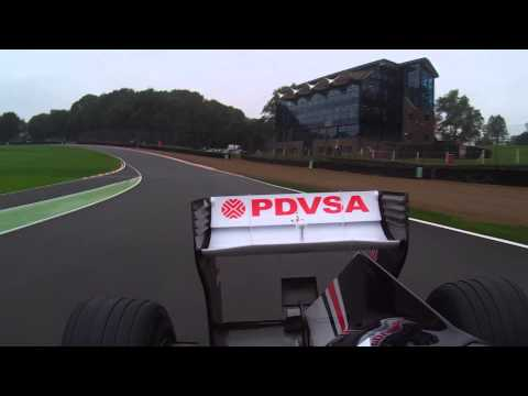 Dogcam Bullet HD2 on Williams Formula One Car with Susie Wolff