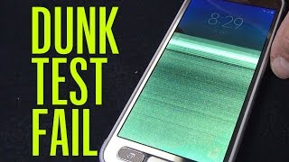 Samsung Galaxy S7 Active Fails Our Dunk Test | Consumer Reports