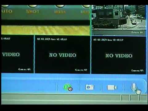 HIKVISION DVR transmision por red