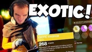 EXOTIC ENGRAMS! (Destiny 2)