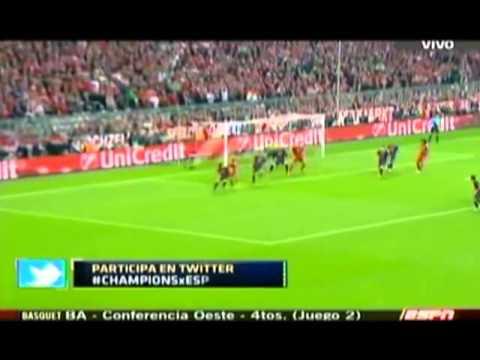 Bayern Munich apabulló a Barcelona por 4 a 0