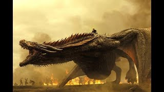 DAENERYS AND DRAGONS- ALL SCENES - SEASON 1-7