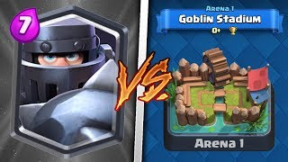 Mega Knight Trolling Arena 1 in Clash Royale | Legendary Troll Deck