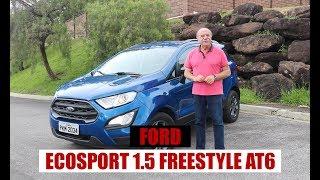 Ford EcoSport 1.5 FreeStyle AT6 2018 - Teste do Emilio Camanzi