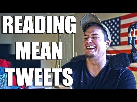 Reading Mean Tweets... #RoastDan
