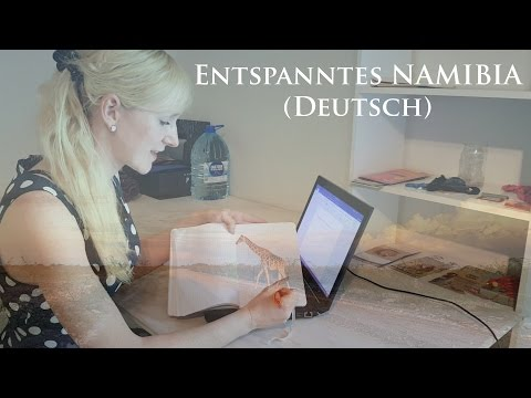 Namibia Traumreise ♥ Wüste - Tiere - Massage (ASMR Deutsch, Community on tour)