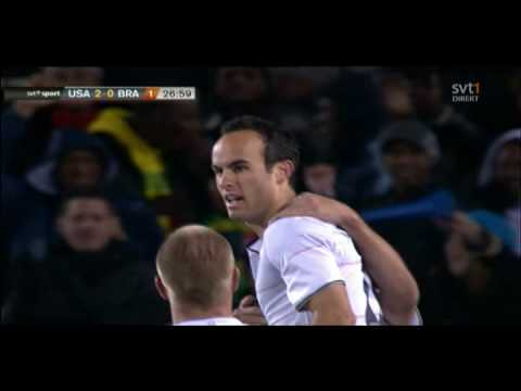 Landon Donovan Fantastic Goal 2-0 - USA vs Brazil - Confederations Cup Final 2009 Video