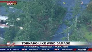 FNN: Flynn sentencing delayed until March, White House Briefing; Tornado-Like Damage in WA