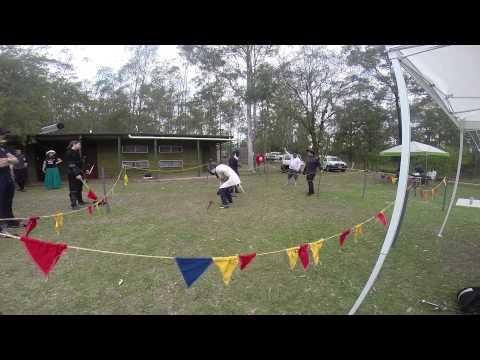 Swordplay 14 Arden vs Mark Baker sword