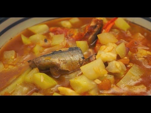 Ginisang Upo at Sardinas recipe Pinoy Filipino Sardines Tagalog