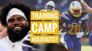 Will Zeke & Melvin Gordon Holdout? 💰Case Keenum Interview | The Lefkoe Show