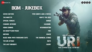 Uri The Surgical Strike Bgm Jukebox Shashwat Sachdev Vicky Kaushal Yami Gautam