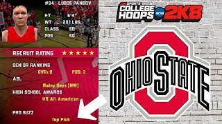 We Recruited A #1 NBA Draft Pick | College Hoops 2K8 Ohio State Buckeyes Rebuild Ep. 2