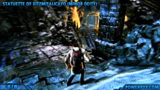 Uncharted Golden Abyss - All Treasure Locations - Chapter 29