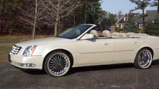 ~~~SOLD~~~2009 Cadillac DTS Deville Convertible For Sale~Low Miles~Beautiful~NEW Vogue Chrome Wheels