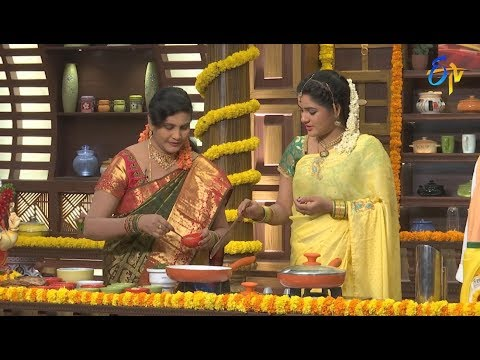 Telugu Ruchi | 17th September 2018 | Full Episode | ETV Telugu