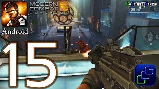 Modern Combat 5: Blackout Android Walkthrough - Part 15 - Chapter 6: Gilman HQ - Spec Ops