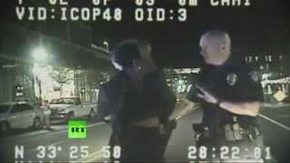 ASU professor slamed to ground, arrested for refusing to show ID  6/30/14 (Brutality)