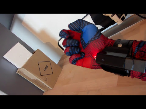 Electromagnetic Spiderman