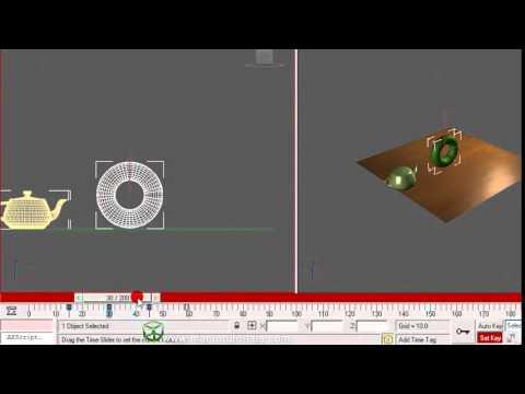 17.2 3D Studio Max  Tutorial. Como hacer una simple animacion.