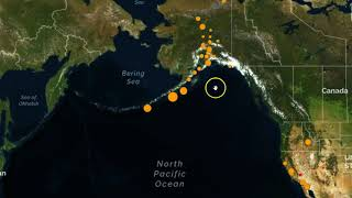 Odd Line Of Earthquakes Hitting In Alaska, Uptick In Quakes In Idaho