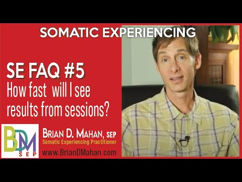 When Will I See Results from Somatic Experiencing Sessions?