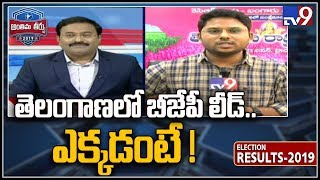 BJP Kishan Reddy leads in Secunderabad