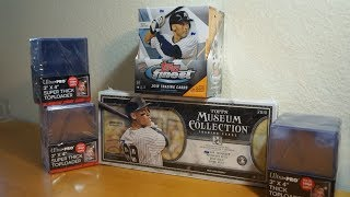 2 Box Break! 2018 Topps Museum Collection & Topps Finest!