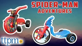 Incredibles 2 and Spider-Man Adventures Junior Cruisers [REVIEW] | Jakks Pacific Toys